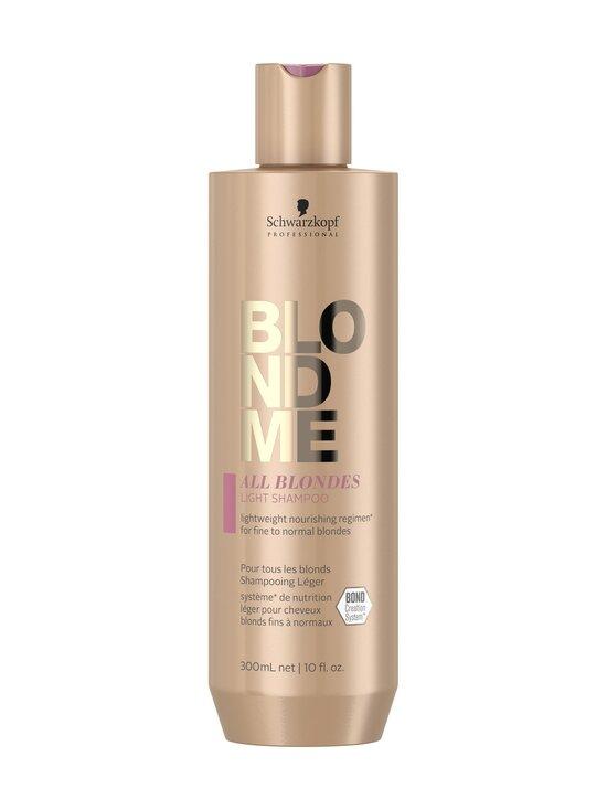 Schwarzkopf Professional - All Blondes Light Shampoo 300 ml - NOCOL | Stockmann - photo 1