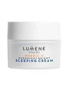 Lumene - VALO Overnight Bright Vitamin C Sleeping Cream -uudistava yövoide 50 ml - null | Stockmann