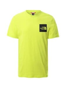 The North Face - M S/S Fine Tee -paita - JE31 SULPHUR SPRING GREEN | Stockmann