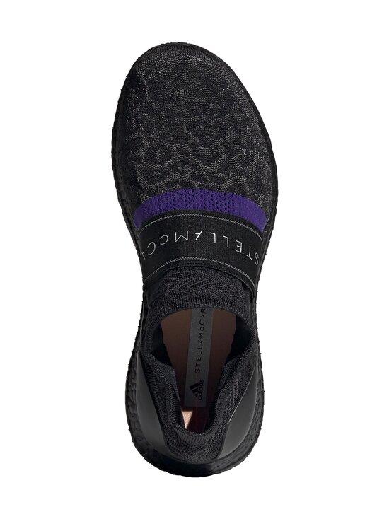 adidas by Stella McCartney - UltraBOOST X 3D Knit -juoksukengät - CORE BLACK/COLLEGIATE PURPLE/PEACH NOUGAT-SMC | Stockmann - photo 2