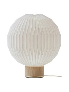 Le Klint - Model 375 Medium -pöytävalaisin - WHITE, LIGHT OAK | Stockmann