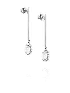Efva Attling - Little Day Pearl & Stars Earrings -korvakorut - WHITE GOLD & DIAMONDS | Stockmann
