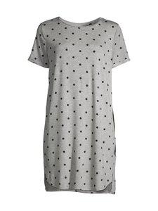 NOOM loungewear - Ilona-yöpaita - GREY MEL/BLACK COMBO | Stockmann