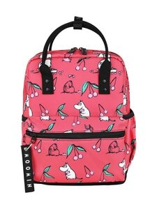 Muumi - Viuhti Backpack Cherry -reppu - RED | Stockmann
