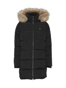 Tommy Jeans - Tjw Modern Puffa Coat -takki - BDS BLACK   Stockmann