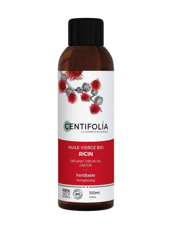 Organic Virgin Oil Castor -risiiniöljy 100 ml