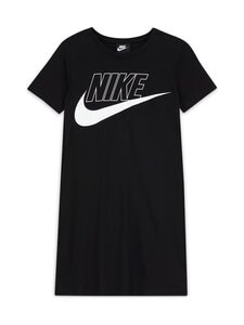 Nike - Sportswear T-Shirt Dress -mekko - BLACK/WHITE | Stockmann