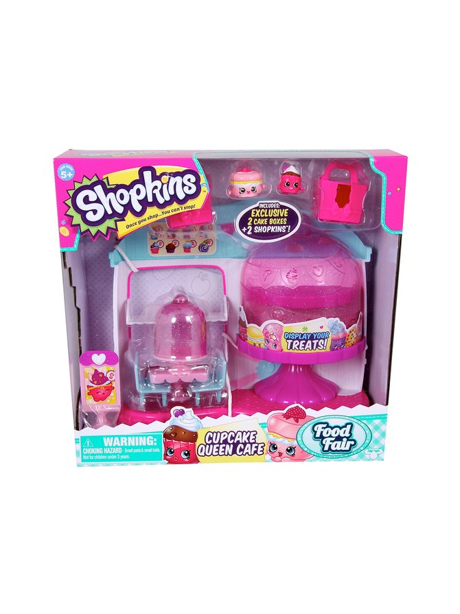 Shopkins Queen -kahvila