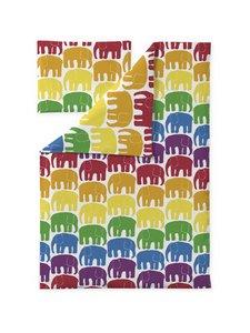 Finlayson - Elefantti- vauvan pussilakanasetti 85 x 125 + 40 x 60 cm - MULTI | Stockmann