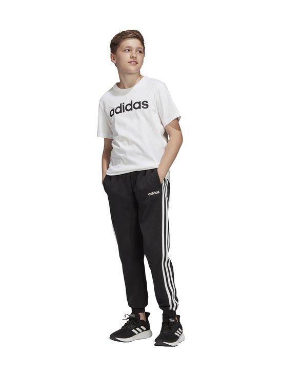 adidas Performance - Essentials 3-Stripes -collegehousut - BLACK/WHITE   Stockmann - photo 10