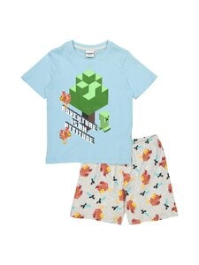 Minecraft - Pyjama - L.GREY, AQUAMARINE | Stockmann