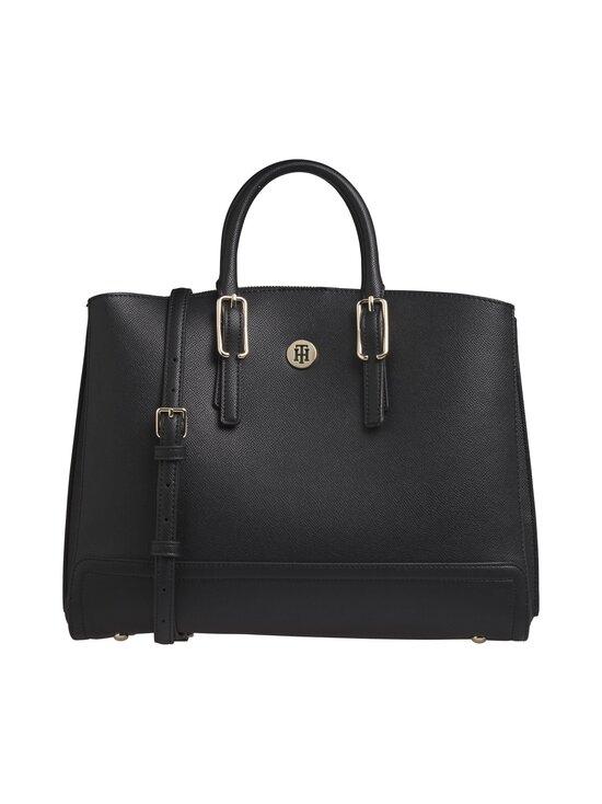 Tommy Hilfiger - Honey Workbag -laukku - 0GJ BLACK | Stockmann - photo 1