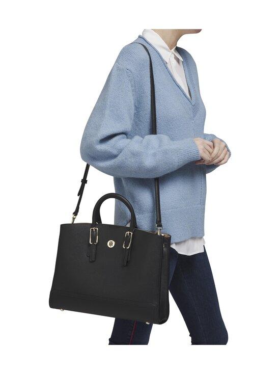 Tommy Hilfiger - Honey Workbag -laukku - 0GJ BLACK | Stockmann - photo 4