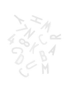 Design Letters - Kirjaimet muistitauluun - VALKOINEN | Stockmann