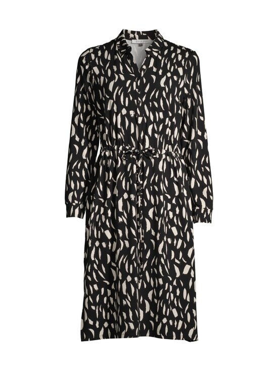 cut & pret - Femme-mekko - BLACK/CREAM PAINT BRUSH PRINT | Stockmann - photo 1