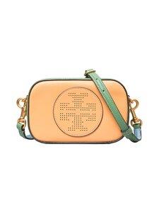 Tory Burch - Perry Bombe Perforated Logo Mini Bag -nahkalaukku - JACKFRUIT / PATINA   Stockmann
