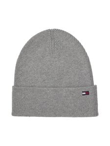 Tommy Hilfiger - Essential Knit Beanie -pipo - MID GREY HEATHER P01 | Stockmann