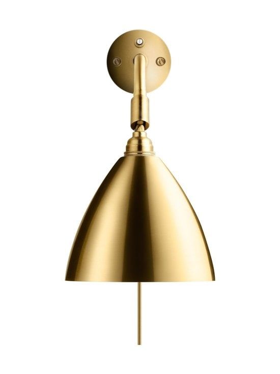 Gubi - Bestlite BL7 Wall Lamp -seinävalaisin - SHINY BRASS | Stockmann - photo 1