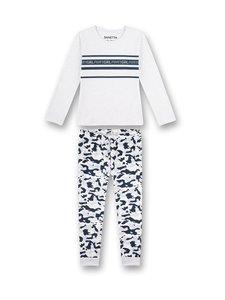 Sanetta - Pyjama - 1980 ECRU MELANGE | Stockmann