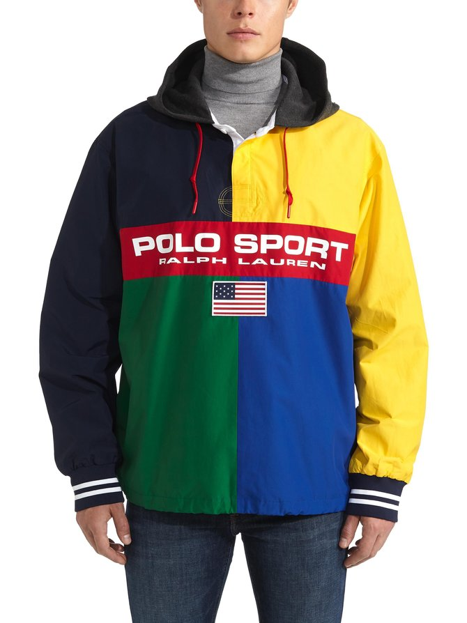 Rugby Pullover -takki