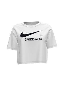 Nike - Sportswear-paita - 100 WHITE/BLACK | Stockmann