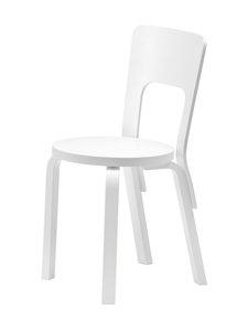 Artek - 66-tuoli, koottava - MAALATTU VALKOINEN | Stockmann