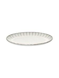 Serax - Inku Oval S -lautanen 25 x 17,5 x 1,7 cm - WHITE | Stockmann
