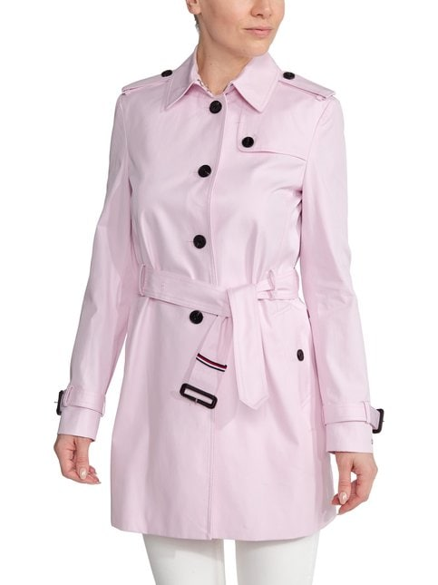 Single Breasted Trench Coat -trenssi