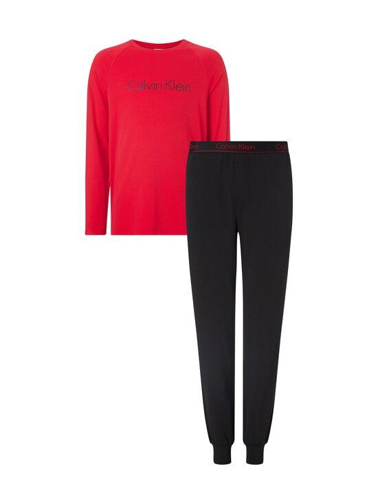 Calvin Klein Underwear - Pyjama - 9UR RED GALA TOP/ BLACK JOGGER   Stockmann - photo 1
