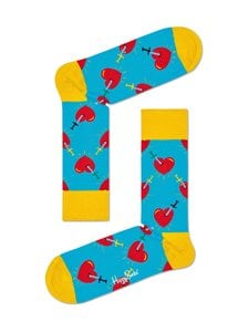 Happy Socks - Broken Heart -sukat - 6300 BLUE | Stockmann