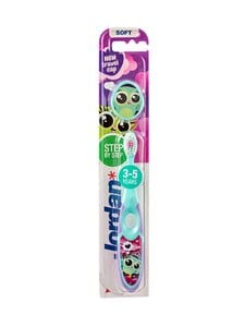 Jordan - Step By Step Toothbrush 3-5 Years Soft -hammasharja | Stockmann