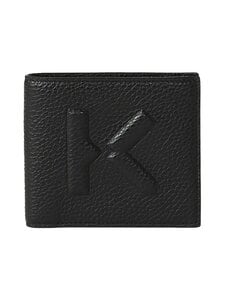 Kenzo - Imprint Small Grained Leather -nahkalompakko - 99BLACK | Stockmann