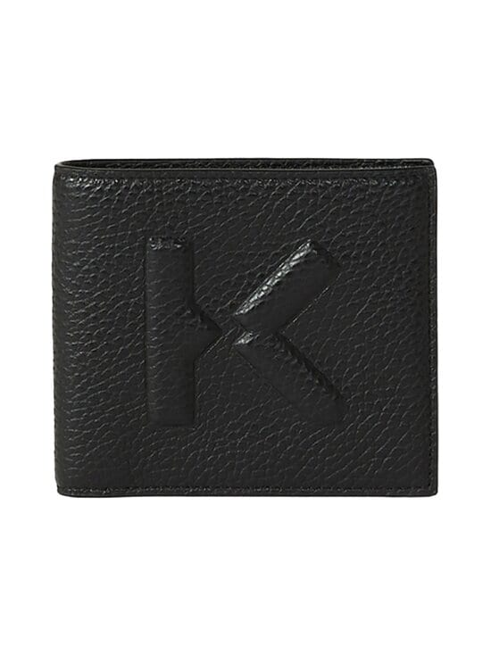 Kenzo - Imprint Small Grained Leather -nahkalompakko - 99BLACK | Stockmann - photo 2