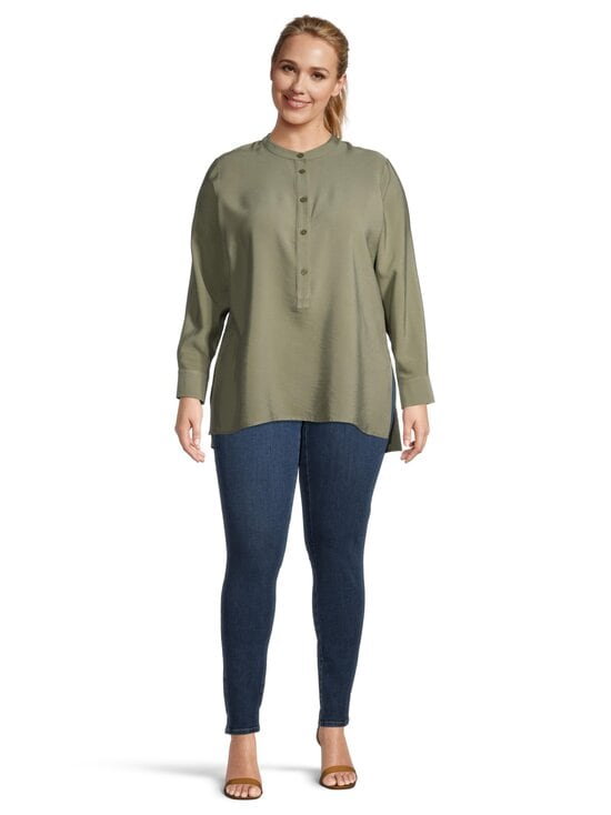 cut & pret PLUS - Fanny Plus -pusero - KHAKI GREEN | Stockmann - photo 2