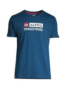 Alpha Industries - Alpha Block-Logo T-paita - 579 NAVAL BLUE | Stockmann