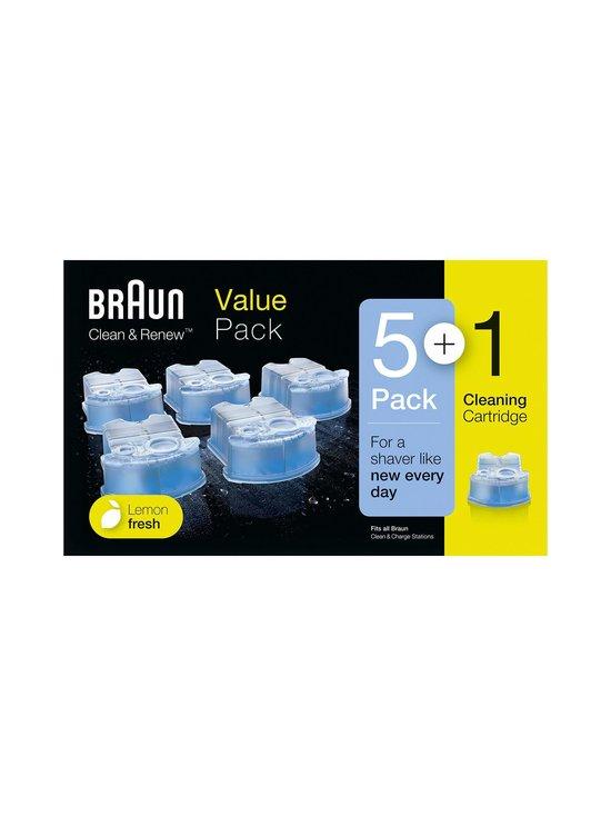 Braun - Clean & Renew™ -puhdistuskasetti 5 + 1 kpl - NOCOL | Stockmann - photo 1