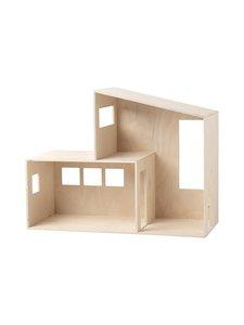 Ferm Living - Miniature Funkis House Small -nukkekoti - NATURAL | Stockmann