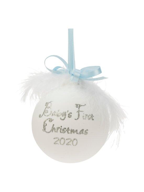 Weiste - Baby's First Christmas -joulupallo - WHITE | Stockmann - photo 1