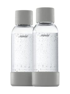 MySoda - Juomapullo 0,5 l, 2 kpl - GRAY | Stockmann