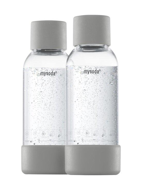 MySoda - Juomapullo 0,5 l, 2 kpl - GRAY   Stockmann - photo 1
