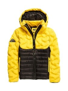 Superdry - Radar Quilt Fuji -takki - SWR CYBER YELLOW | Stockmann