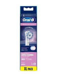 Oral-B - Sensitive Clean & Care -vaihtopäät 6kpl - WHITE   Stockmann