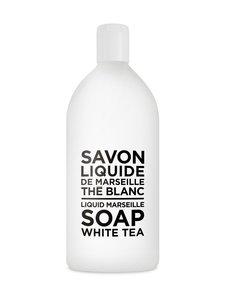 Compagnie de Provence - White Tea -nestesaippua, täyttöpakkaus 1 l - WHITE | Stockmann