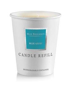 Max Benjamin - Blue Azure -tuoksukynttilän täyttöpakkaus 190 g - BLUE | Stockmann