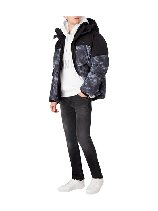 Calvin Klein Jeans - Cloud Print Puffer -toppatakki - BEH CK BLACK | Stockmann - photo 6
