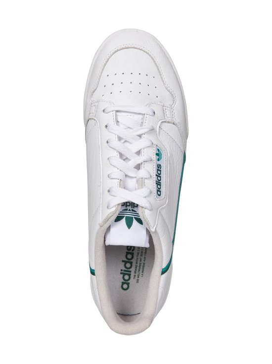 adidas Originals - Continental 80 -nahkasneakerit - FTWWHT/GLRGRN/CGREEN | Stockmann - photo 2