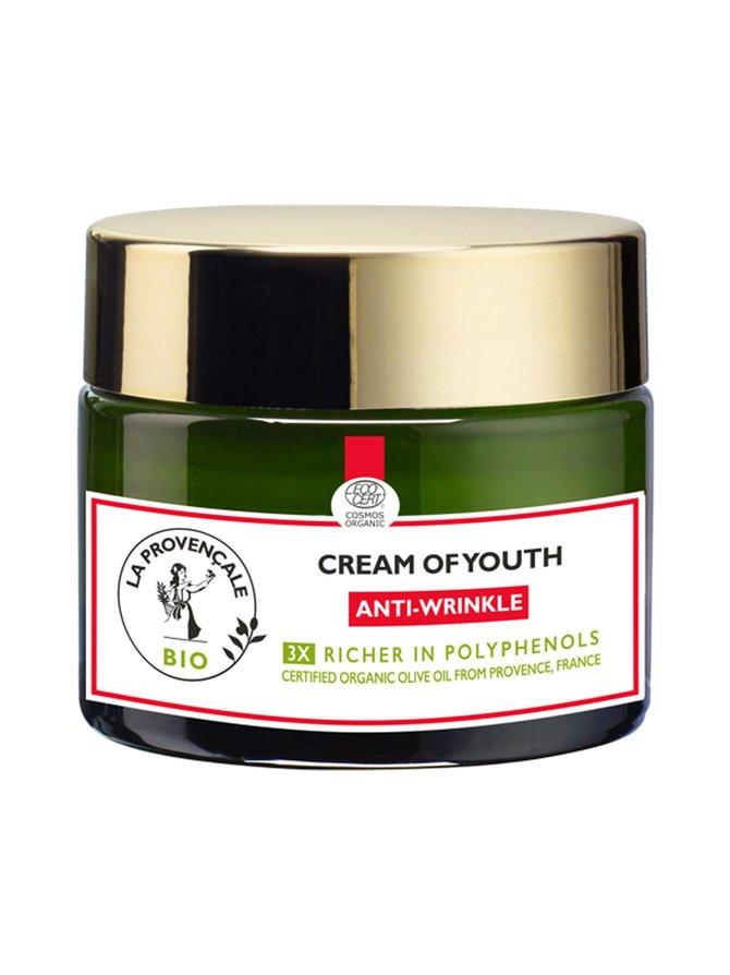 Cream of Youth Anti-Wrinkle -kasvovoide 50 ml