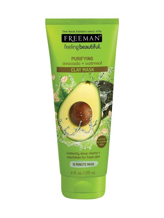Freeman - Purifying Avocado + Oatmeal Clay Mask -kasvonaamio 175 ml - null   Stockmann - photo 1