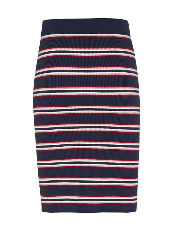 Tjw Stripe Sweater Skirt -hame