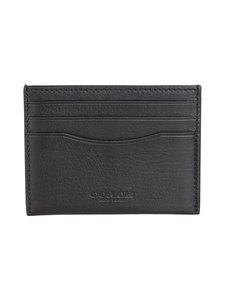 Coach - Flat Card Case -korttikotelo - BLACK | Stockmann